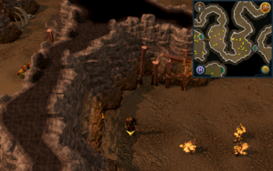Scan clue Fremennik Slayer Dungeon west side of pyrefiend chamber.png