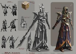 Necromancer Outfit The Runescape Wiki