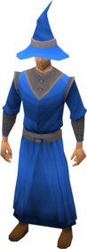 Academy robe armour equipped.png: Academy magic robe top equipped by a player