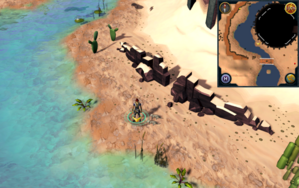 Scan clue Kharidian Desert south-west of Dominion Tower.png