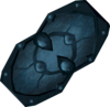 A charged rune spikeshield.