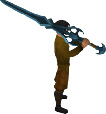 Rune 2h sword equipped.png: Rune 2h sword equipped by a player