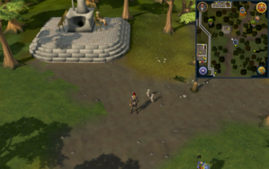 Compass clue Varrock in middle of crossroads east of Varrock.png
