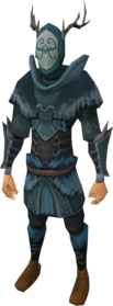 Anima core of Seren armour equipped.png: Anima core helm of Seren equipped by a player