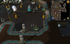 Scan clue Dorgesh-Kaan lower level south-east of group of fountains.png