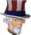 Sam (Independence Day Celebration) chathead.png: Chat head image of Sam (Independence Day Celebration)