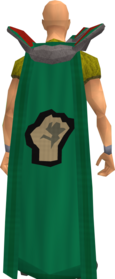 Retro strength cape equipped.png: Strength cape equipped by a player