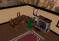Destroying Unferth's furniture.png