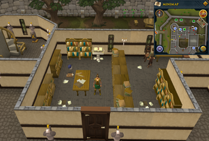 Emote clue Yawn Varrock Palace library.png