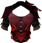 Red dragonhide body detail.png