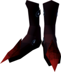 Red dragonhide boots detail.png