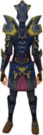 Refined anima core of Zaros armour equipped.png: Refined anima core helm of Zaros equipped by a player