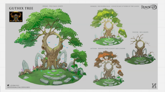 Spring Festival - Guthix Tree Concept Art.png