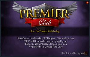 Premier Club - The RuneScape Wiki