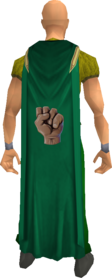 Strength cape equipped.png: Strength cape equipped by a player