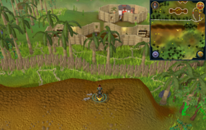 Scan clue Kharazi Jungle on ridge south of the bank.png