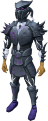 Sirenic armour set (shadow) equipped.png