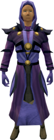 Batwing armour equipped (male).png: Batwing legs equipped by a player