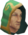 Hefin monk chathead.png: Chat head image of Hefin monk