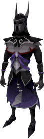 Virtus armour equipped (male).png: Virtus robe legs equipped by a player