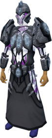 Tectonic armour (shadow) equipped.png: Tectonic robe bottom (shadow) equipped by a player