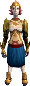 Mind armour equipped (female).png: Mind body equipped by a player