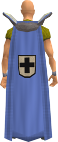 Retro defence cape equipped.png: Defence cape equipped by a player