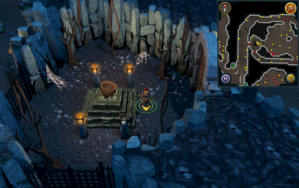 Scan clue Taverley Dungeon in chamber with Cauldron of Thunder.png