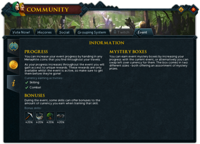 Community (Aiding the Exile) interface information.png