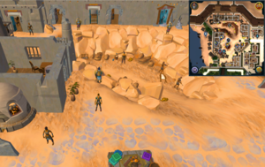Scan clue Menaphos Worker district south-west of the concentrated sandstone rocks.png