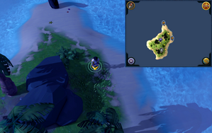 Scan clue Turtles third island between the portals.png
