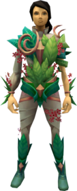 Outfit of Spring equipped.png: Boots of Spring equipped by a player