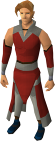 Swanky boots equipped.png: Swanky boots equipped by a player