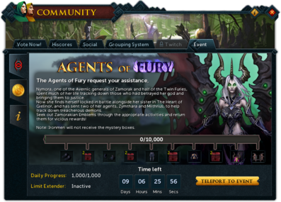 Community (Agents of Fury) interface summary.png