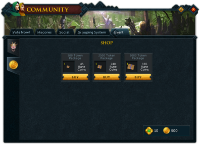 Community (Rune Capers) interface shop.png