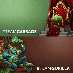 Team Gorilla vs Team Cabbage.png