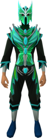 Butterfly outfit equipped (male).png: Butterfly mask equipped by a player
