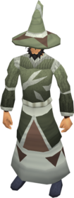 Mage armour (class 5) equipped.png: Robe bottom (class 5) equipped by a player