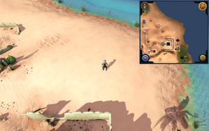 Scan clue Kharidian Desert north-east of Uzer.png
