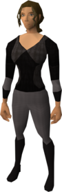 Vyrewatch outfit equipped (female).png: Vyrewatch top equipped by a player