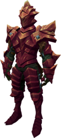 Orikalkum armour + 3 equipped (male).png: Orikalkum platebody + 3 equipped by a player