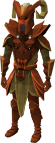Primal armour (heavy) equipped (male).png: Primal boots equipped by a player