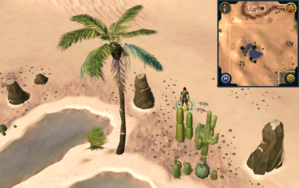 Scan clue Kharidian Desert north of oasis.png