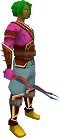 Abyssal imp horn wand equipped.png: Abyssal imp horn wand equipped by a player