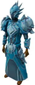 Elite tectonic armour (ice) equipped.png: Elite tectonic robe bottom (ice) equipped by a player