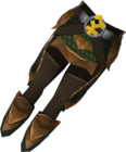 Blessed dragonhide chaps (Bandos) detail.png