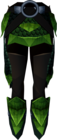 Green dragonhide chaps detail.png