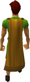 Cape (orange) equipped (male).png: Cape (orange) equipped by a player