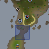 Mudskipper Point snow spirit location.png