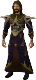 Necromancer robe armour equipped (male).png: Necromancer robe top equipped by a player